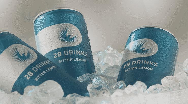 28 Drinks Bitter Lemon • 28 Getränk ohne Acai im Geschmackstest!