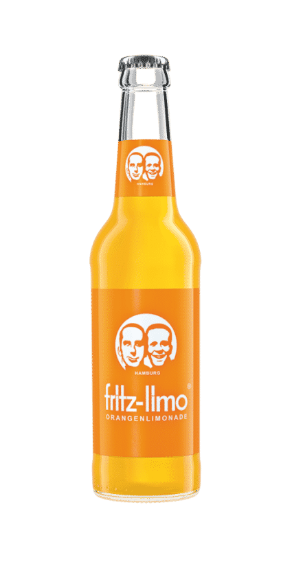 Fritz Limo Orange. Orangenlimonade Getränk Review.