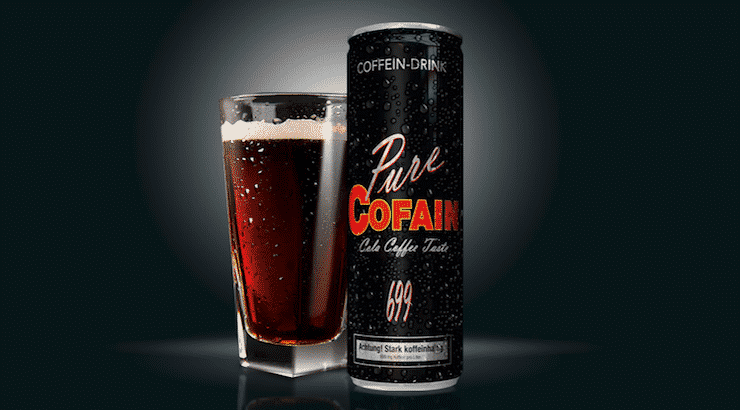 Pure Cofain 699 Energy Drink Test • Starke Wirkung mit Geschmacksdefiziten :-(