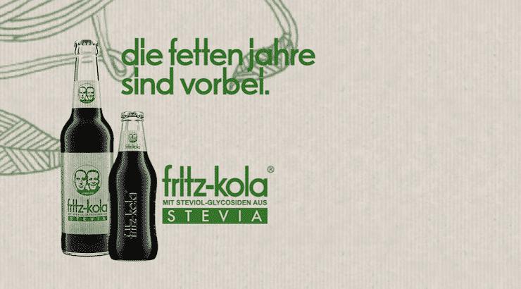 Fritz Kola Stevia Test: Die fetten Jahre sind vorbei!
