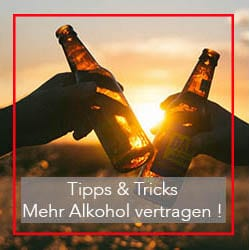 alcohol vertragen