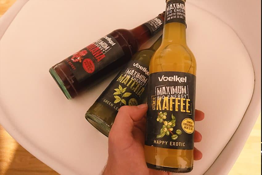 Voelkel MAXIMUM bio Energy Drinks • Natürliche Wachmacher für den Alltag!